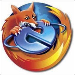 Mozilla Firefox versus Internet Explorer