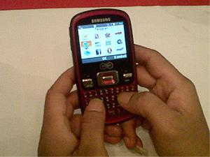 Ponsel Qwerty Samsung