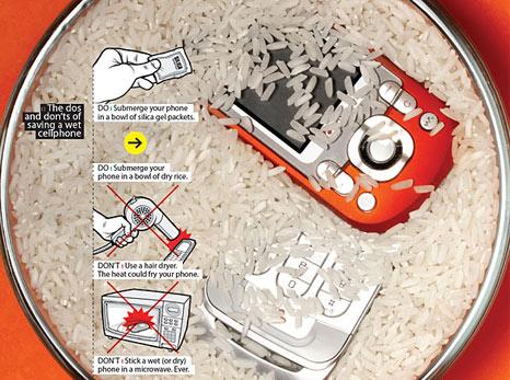 Cara Menyelamatkan Ponsel Terendam Air