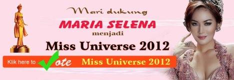 Dukung Maria Selena
